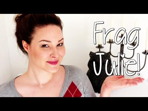 Frag Julie - Adoption, Vegetarier etc
