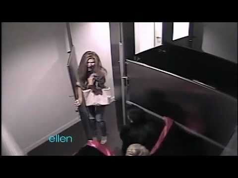 Ellen and Colin Farrell's Bathroom Scares!