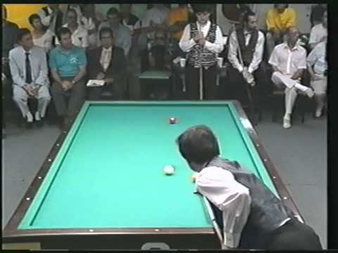 Sang Lee: 3-Cushion Billiards Run of 14 (w/ full table masse shot) against Sayginer