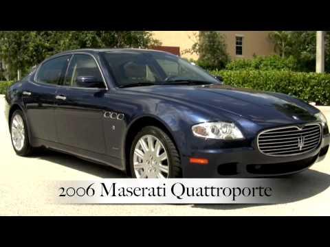 2006 Maserati Quattroporte Neptune Blue A2340