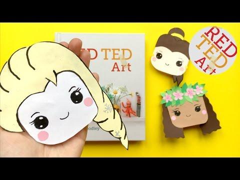 Elsa Bookmark DIY - Disney Princess Corner Bookmarks DIYs