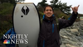 Officials On Lookout For Sharks After Deadly Cape Cod Attack | NBC Nightly News - NBCNEWS