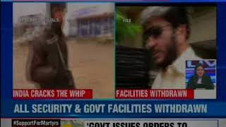 'Don't need it' separatist leaders after govt scraps their security cover over Pulwama incident - NEWSXLIVE