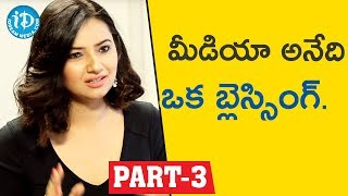 Actress & Social Activist Isha chawla Interview Part #3 || Face To Face With iDream Nagesh - IDREAMMOVIES
