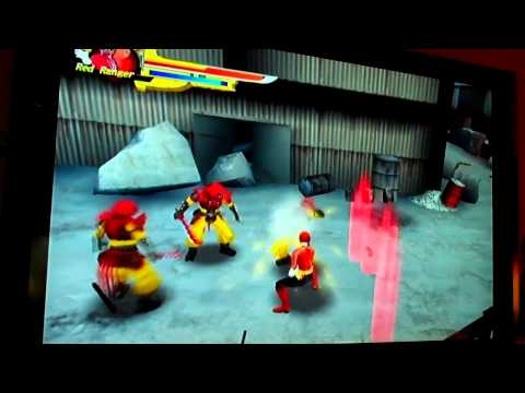 CGR E3 2011 Adventure Pt32: POWER RANGERS SAMURAI E3 gameplay on Wii