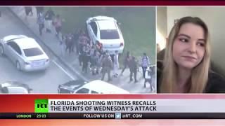 'Going to school won't be same': Florida massacre survivor tells RT - RUSSIATODAY