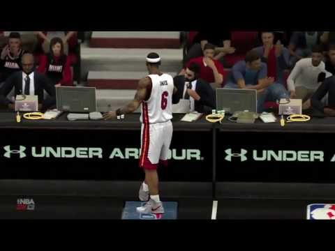 LeBron James Buzzer Beater Win In OT - Game 1 (5/22)
