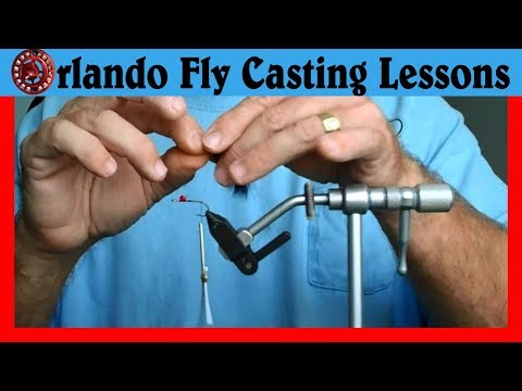 Saltwater Fly Tying - Simple Redfish Fly