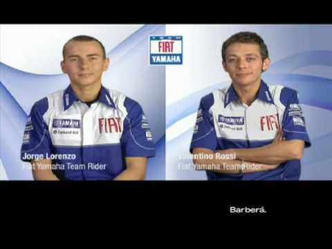 Valentino Rossi Vs Jorge Lorenzo 2009 ( english subtitles)