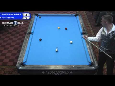 Thorsten Hohmann vs Stevie Moore at the Ultimate 10-Ball Championships