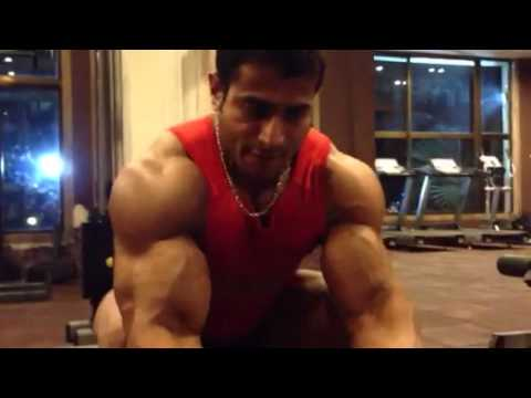 Suhas khamkar arms workout