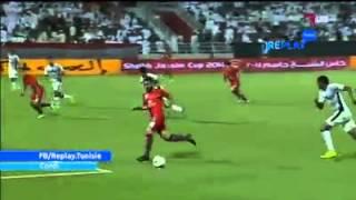 بالفيديو التونسي يوسف المساكني يسجّل في مباراة السوبر القطري