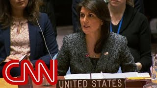 Nikki Haley: Russia responsible for UK poisoning - CNN
