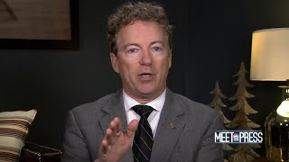 Full Rand Paul: 'Risk to our national interest to be involved with the Saudis | Meet The Press - NBCNEWS