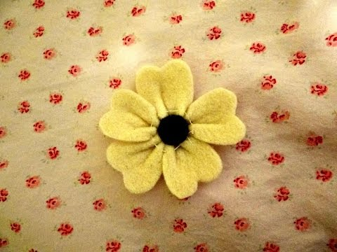 Easy Felt Flowers Tutorial & 3 Ways to Use!