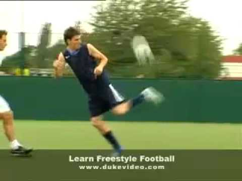 billy wingrove freestyle football trick