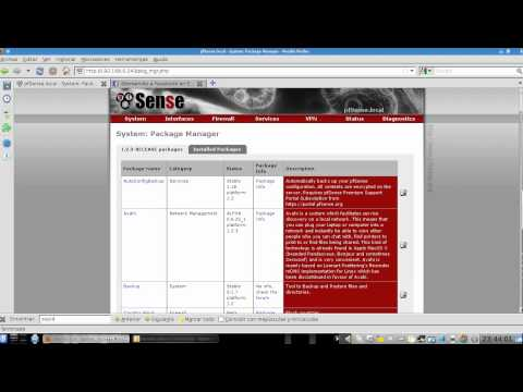 Servidor Proxy con PfSense y VirtualBox