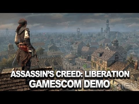 Assassin's Creed III: Liberation - A Faithful Acolyte (Alternative Run) - Gamescom 2012