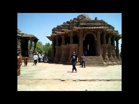 house dance tiev bartok & raja jolly in sun temple (india gujrat)
