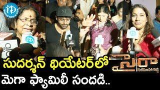 Mega Family Response To Sye Raa Narasimha Reddy Movie || Sai Dharam Tej, Harish Shankar - IDREAMMOVIES