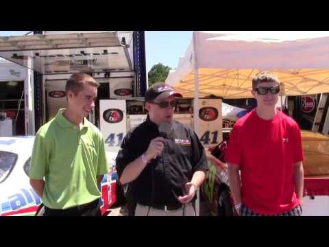 MSB at Anderson 6-14-13 Ben Rhodes & Spencer Davis Pre-Race Interview