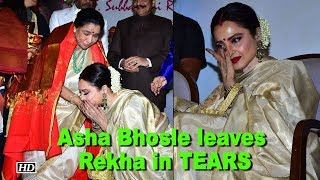 Asha Bhosle leaves Rekha in TEARS - BOLLYWOODCOUNTRY