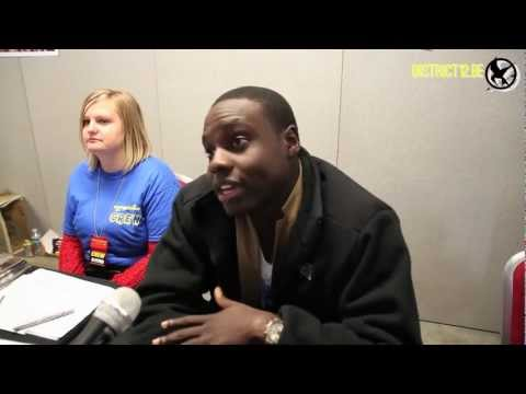 Dayo Okeniyi (Thresh) - Collectormania 18 Interview by District12.be