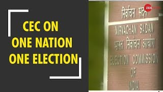 """BJP pushes for """"One Nation One Election"""", Amit Shah writes to law commission - ZEENEWS"""