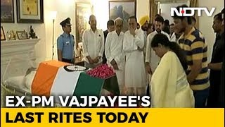 India Mourns Vajpayee, Poet Prime Minister, Statesman. Funeral Today - NDTV