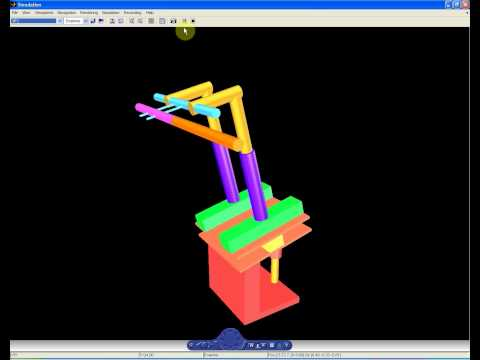 3D motion simulation in MATLAB/Simulink environment