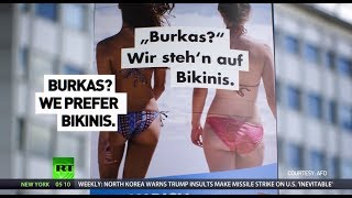 Battle for Bundestag: The fight of campaign posters - RUSSIATODAY