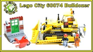 lego bulldozer break in instructions
