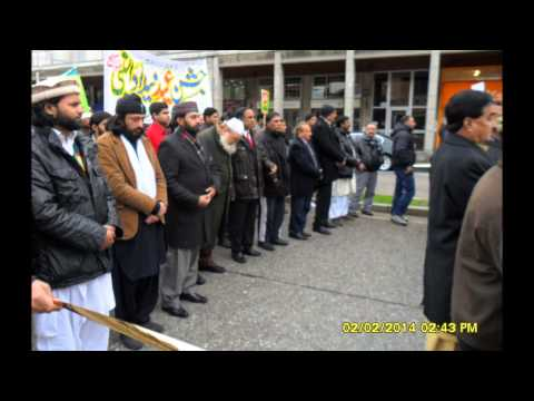 Milad March in Gallarate Italy 2014 Pictures