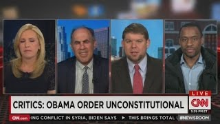CNN guests clash over Immigration Amnesty - CNN