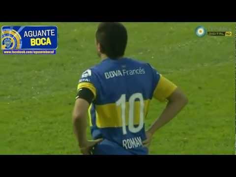 Boca 1 (5)-(4) 1 D. Merlo, Semifinal, Copa Argentina 2012 | Gol de Riquelme y penales. (HD)