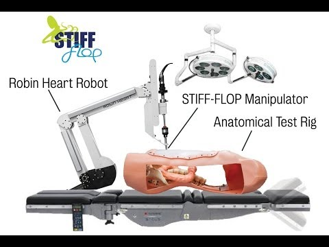 RobotSafari at the Science Museum - STIFF-FLOP and SCHUNK