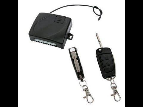 Inchidere centralizata cu telecomanda - Modul inchidere cu cheie tip briceag