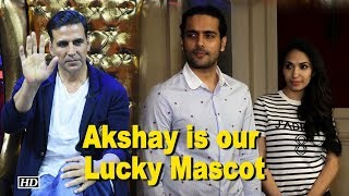 Akshay Kumar is our Lucky Mascot: Prernaa Arora - BOLLYWOODCOUNTRY
