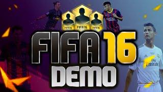 FIFA 16 DEMO ПЕРВЫЙ ВЗГЛЯД/ОБЗОР