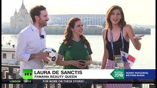 'It's so hot': RT talks to Panama beauty queen ahead of clash with England - RUSSIATODAY