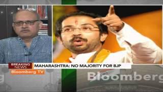 Political Capital- Hope We Can Form Govt In Maharashtra On Our Own: BJP - BLOOMBERGUTV