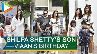 Aishawarya Rai Bachchan & other celebs grace Shilpa Shetty's son Viaan's birthday party in Juhu - HUNGAMA