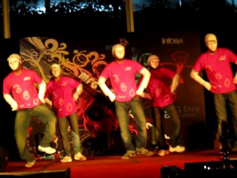 Group Dance in Infosys Pune - MFG Day (by SAHIL GUPTA with 360 Degree Group) _ (Part 1 of 2)
