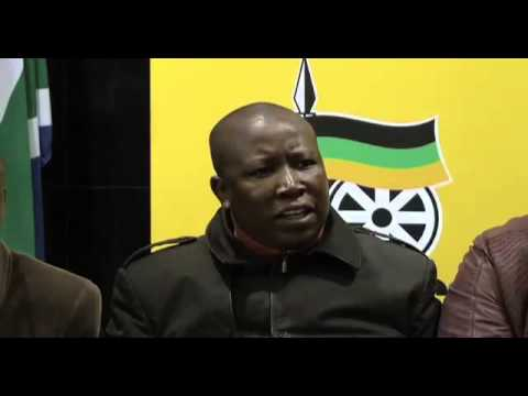 ANCYL is not fighting with president Jacob Zuma: Julius Malema