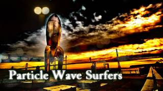 Royalty Free Particle Wave Surfers:Particle Wave Surfers