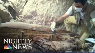 Two ancient Egyptian tombs found in Luxor | NBC Nightly News - NBCNEWS