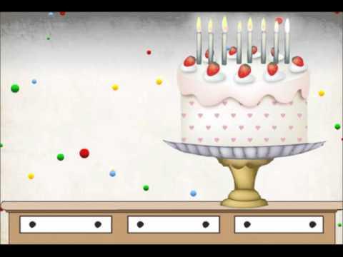 Postales animadas Shoshan.net Saludo de Cumpleaños