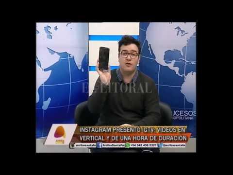 """INSTAGRAM PRESENTÃ"""" IGTV - IGTV: VIDEOS EN VERTICAL Y DE UNA HORA DE DURACIÃ""""N"""