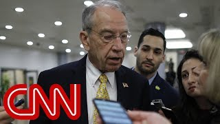Grassley on Putin: I wouldn't have a conversation with a criminal - CNN