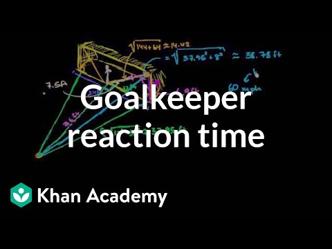Thiago asks: How much time does a goalkeeper have to react to a penalty kick?